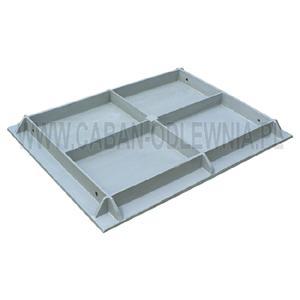 Odlew o dużej masie (50kg) ze stopu aluminium
