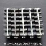 Ruszt segmentowy do pieca na trociny lub wióry