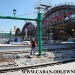 Zabytkowe pompy na Dworcu Głównym we Wrocławiu po renowacji i rekonstrukcji 2012 rok