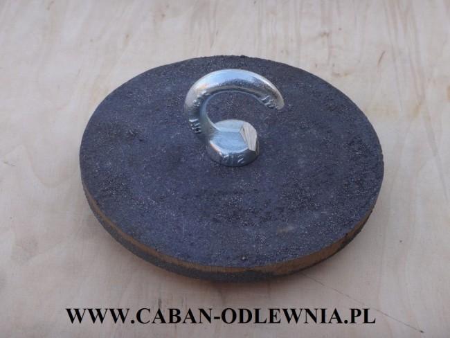Deflektor 16,5cm do pieca z podajnikiem 15-25kW z zawiesiem C-kształtnym
