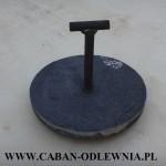 Deflektor o średnicy 165mm do pieca z podajnikiem z hakiem T-kształtnym
