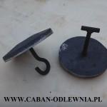 Promiennik żeliwny 16,5cm do pieca z podajnikiem