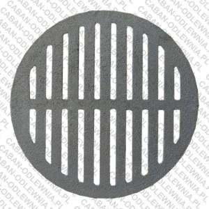 Żeliwny ruszt okrągły fi 370mm