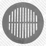 Żeliwne ruszta okrągłe fi 50cm do kotła