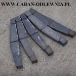 Ruszt sztabkowy 30cm z żeliwa do kotła