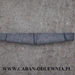 Trwałe żeliwne ruszto belkowe o długości 30cm do pieca