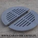 Żeliwne ruszty okrągłe 50cm do pieca lub kotła