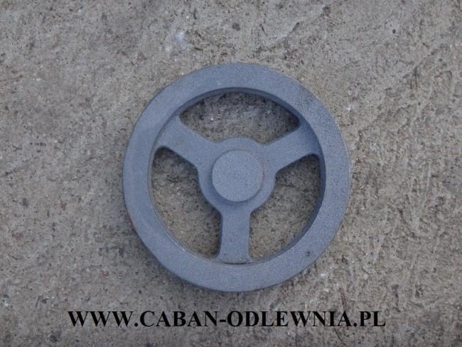 Koło pasowe fi30cm - producent CABAN-ODLEWNIA