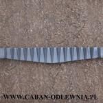 Ruszt jodełkowy 65cm do pieca KMR