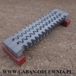 Ruszty jodełkowe o długości 65cm do pieca KMR 350