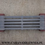 Ruszt belkowy 50cm - producent CABAN-ODLEWNIA