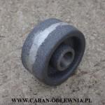 Metalowe (żeliwne) kółko o średnicy 90mm