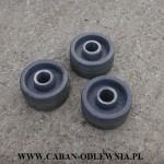 Żeliwne kółka-rolki o średnicy 90mm - CABAN-ODLEWNIA
