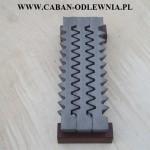 Żeliwny ruszt jodełkowy 500mm do pieca - ciężki i masywny