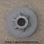 Masywna żeliwna piasta koła fi 260mm do ciągnika