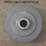 Piasta żeliwna o średnicy 260mm do maszyn rolniczych- odlewnia żeliwa
