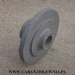 Wytrzymała piasta koła fi 260mm - producent CABAN-ODLEWNIA
