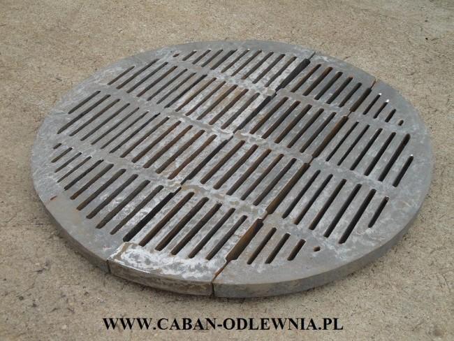 Wytrzymały ruszt okrągły fi 105cm do kotła