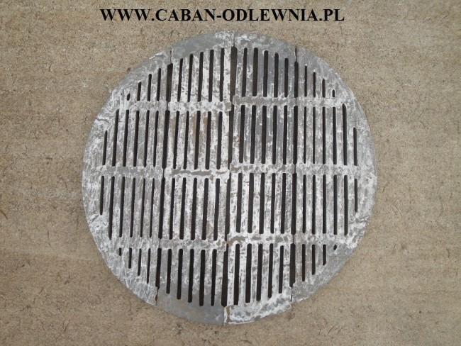 Żeliwny ruszt okrągły 105cm - producent CABAN-ODLEWNIA
