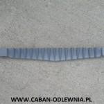 Żeliwna rusztowina jodełkowa długa na 76cm do kotła