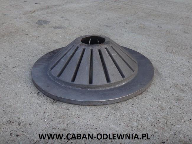 Żeliwny palnik do pieca na biomasę
