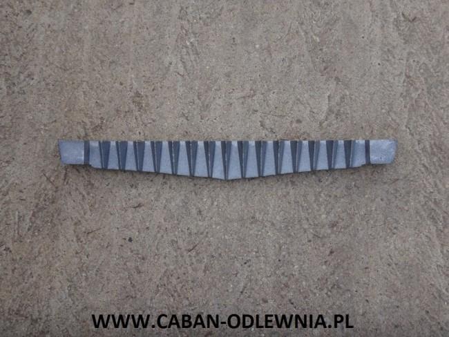 Rusztowina jodełkowa długa na 720mm do kotła KMR 470kW