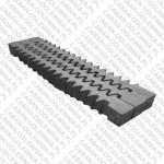 Ruszty jodełkowe o długości 72cm do kotła KMR o mocy 470kW