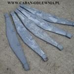 Żeliwne ruszty o długości 90cm do pieca lub kotła