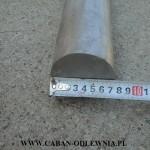 Wałek żeliwny o średnicy 75mm