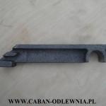 Metalowy odlew wykonany na podstawie wydruku 3D