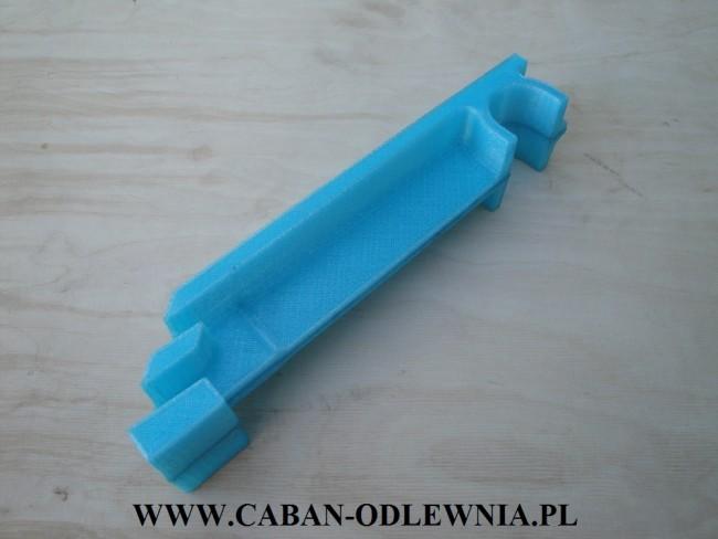 Model odlewniczy wykonany na drukarce 3D