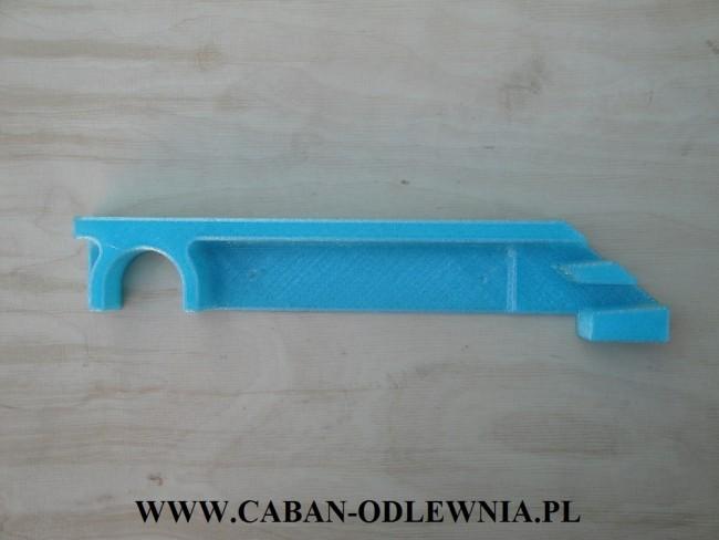 Model ruszta piecowego wykonany metodą szybkiego prototypowania