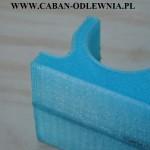 Porowate ściany wydruku 3D przed przystosowaniem na model odlewniczy