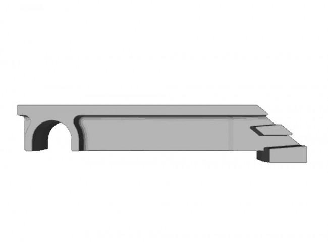 Wizualizacja modelu 3D wykonana z pliku STL