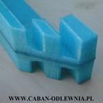 Wydruk przestrzenny 3D wymagający poprawy jakości powierzchni modelu