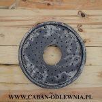 Pierścień paleniska do pieca z podajnikiem - widok dołu
