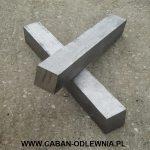 Kwadratowy pręt odlany z żeliwa szarego ZL200