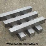Pręty żeliwne kwadratowe - producent CABAN-ODLEWNIA