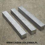 Żeliwne pręty o przekroju kwadratowym EN-GJL-200