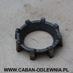 Koronka żeliwna do palnika fi 265mm - producent