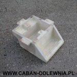 Model odlewniczy korpusu wykonany z drewna przez Klienta
