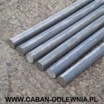 Wałek fi 20mm odlany z żeliwa szarego