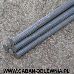 Wałki żeliwne fi 20mm - produkcja i sprzedaż