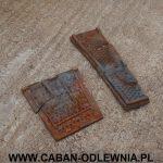 Zniszczone elementy paleniska do odtworzenia