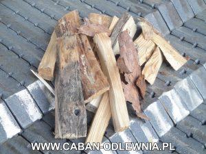 Żeliwne palenisko schodkowe do spalania ścinków i zrębków drewna